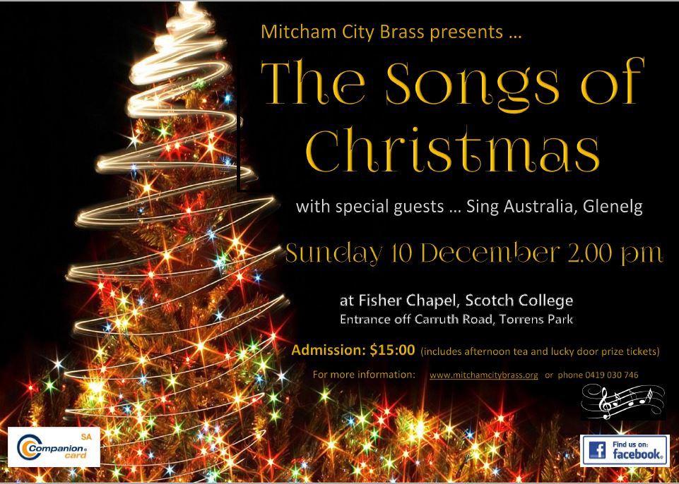 Christmas Concert - Mitcham City Brass