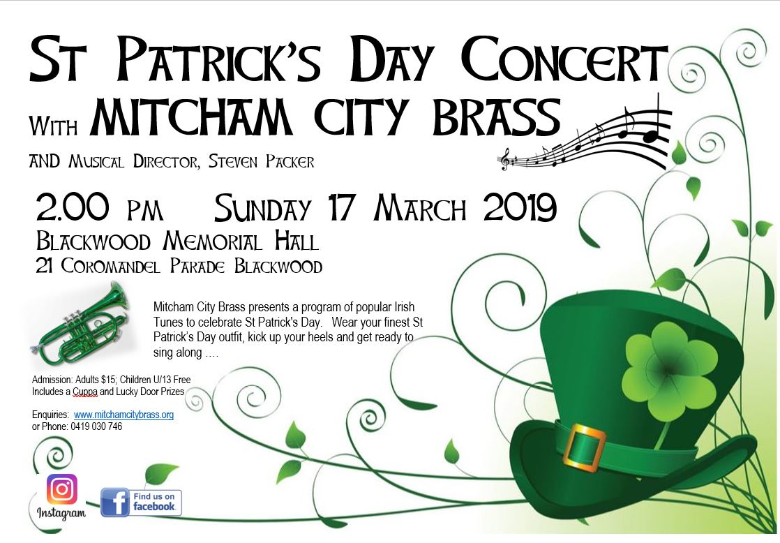 St Patricks Day Concert